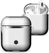 KELERINO. Hoesje voor Apple Airpods 1 & 2 - Hybride - Wit