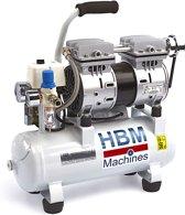 HBM 9 Liter Professionele Low Noise Compressor