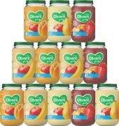 Olvarit Variatiemenu Fruit - 8 maanden - 12 stuks