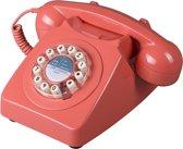 Wild & Wolf 746 - Retro telefoon - Burnt Terracotta