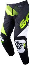 Shot Crossbroek Devo Ultimate Black/Neon Yellow-28