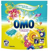 OMO Wascapsules - 32 stuks - Festival Fruit