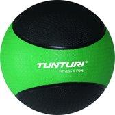 Tunturi Medicine bal - 2 kg - Groen / Zwart