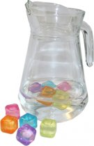 Plastic ijsblokjes 10 stuks
