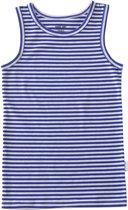 Baby jongens hemd - kobalt blue stripes