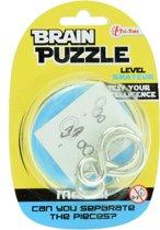 Toi-toys Hersenkraker Brain Puzzle Amateur Zilver