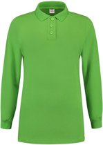 Tricorp Dames polosweater - Casual - 301007 - Limoengroen - maat XXL