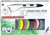 3Dandprint 3D Pen Starterspakket Wit Inclusief 50 Meter Filament en Stencils