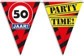 Vlaggenlijn 50 jaar partytime 10mtr