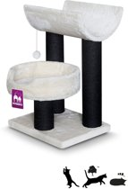 Petrebels Krabpaal Sweet Petite - Lodge 75 - fuzzy cream - 75cm - 11,54 kg