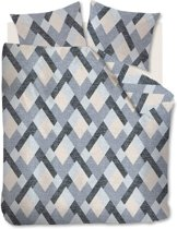 Beddinghouse Montero - Dekbedovertrek - Lits-jumeaux Extra Breed - 260x200/220 cm -  Grijs
