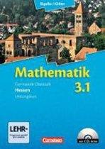 Mathematik 03: 1. Halbjahr. Leistungskurs Sekundarstufe II. Hessen. Schülerbuch mit CD-ROM