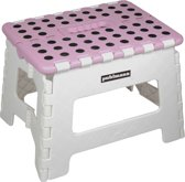 PUHLMANN - JAMES foldable stool PK, Foldable stool /plastic /pink