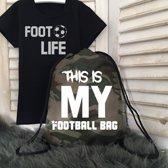 Tas This is my football bag