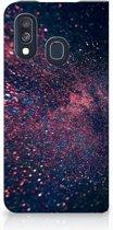 Samsung Galaxy A40 Standcase Hoesje Design Stars