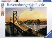 Ravensburger puzzel San Francisco bij nacht - Legpuzzel - 3000 stukjes