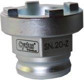 Cyclus Snap-in Sn-20-z Freewheel Afnemer Bmx 4-noks 16mm As