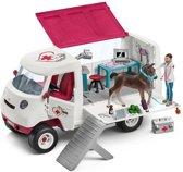 Schleich Mobiele dierenarts 42370 - Paard Speelfigurenset - Horse Club - 30 x 25 x 14 cm