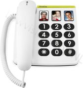 Doro PhoneEasy 331ph - Vaste telefoon - Wit