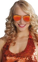 Spiegelbril - Oranje