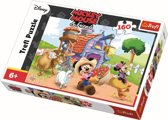 Mickey op de boerderij, 160 stukjes Puzzel