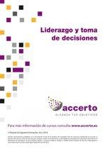 Liderazgo y toma de decisiones