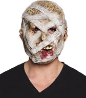 Latex hoofdmasker Mummie