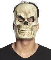 PVC gezichtsmasker Doodshoofd met beweegbare kaak