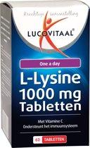 Lucovitaal - L-Lysine 1000 milligram - 60 tabletten - Aminozuren - Voedingssupplementen