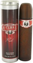 Fragluxe Cuba Red 100 ml - Eau De Toilette Spray Herenparfum
