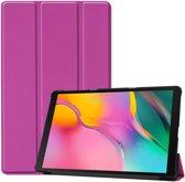 Samsung Galaxy Tab A 10.1 (2019) Hoesje - Smart Book Case - Paars