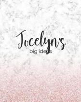 Jocelyn's Big Ideas: Personalized Notebook - 8x10 Lined Women's Journal