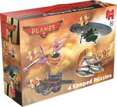 Jumbo Planes 2 4in1 - gevormde Puzzel - 6,8,10 en 12 stukjes