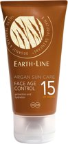 Earthline Argan Bio Sun Face Age Control SPF 15 - Zonnebrand - 50 ml