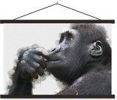 Schoolplaat Chimpansee