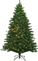 Black box kunstkerstboom led hamilton tree maat in cm: 215 x 142 groen 330 lampjes met warmwit led