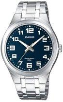 Casio MTP-1310PD-2BVEF - Horloge - 45 mm - Staal - Zilverkleurig