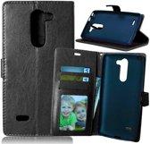Cyclone cover wallet case hoesje LG K7 zwart