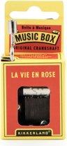 Nostalgisch Muziekdoosje La Vie en Rose