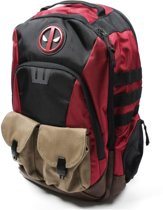 Deadpool Black - Black - Red / Rugtas / Laptoptas / Tas