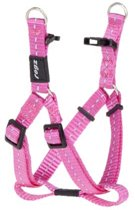Rogz For Dogs Nitelife Step-In H Roze 11 mmx27-38 cm
