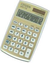 Citizen CPC-112 calculator Pocket Basisrekenmachine Goud