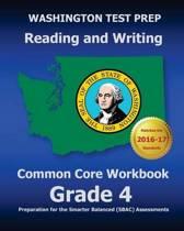 Washington Test Prep Reading and Writing Common Core Workbook Grade 4