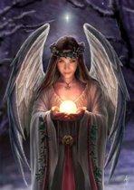 Anne Stokes Kerstkaart Yuletide Angel