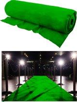 Groene loper 1m breed x 30m lang op rol