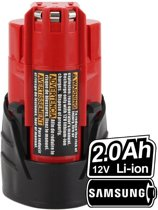 Milwaukee M12 B2 Li-ion 2.0Ah/12V Plus.Parts Accu (24Wh)