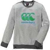 CANTERBURY CCC LOGO CREW SWEAT - XL - PALE GREY MARL