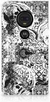 Motorola Moto G7 | G7 Plus Standcase Hoesje Design Skulls Angel