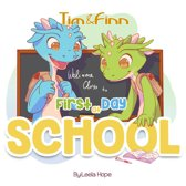 Tim and Finn the Dragon Twins - First Day of School