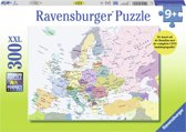 Ravensburger puzzel Europa kaart CITO - Legpuzzel - 300 stukjes